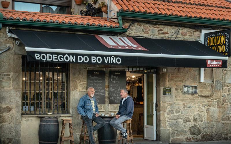 Gastronomía Vilagarcía Bocaterias Bo Viño