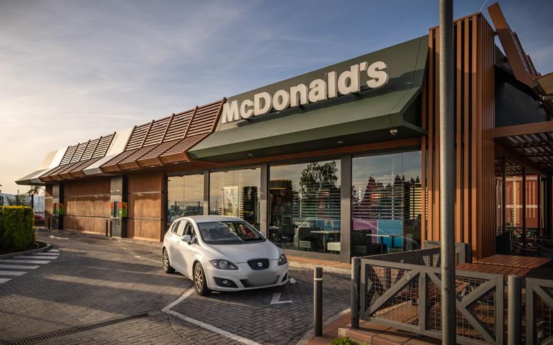 Gastronomía Vilagarcía Rápida McDonalds