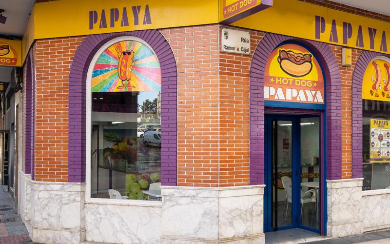 Gatronomía Vilagarcía Rápida Papaya