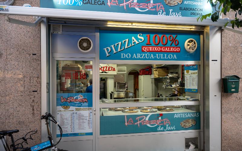 Gastronomía Vilagarcía Rápida Pizzeta Javi