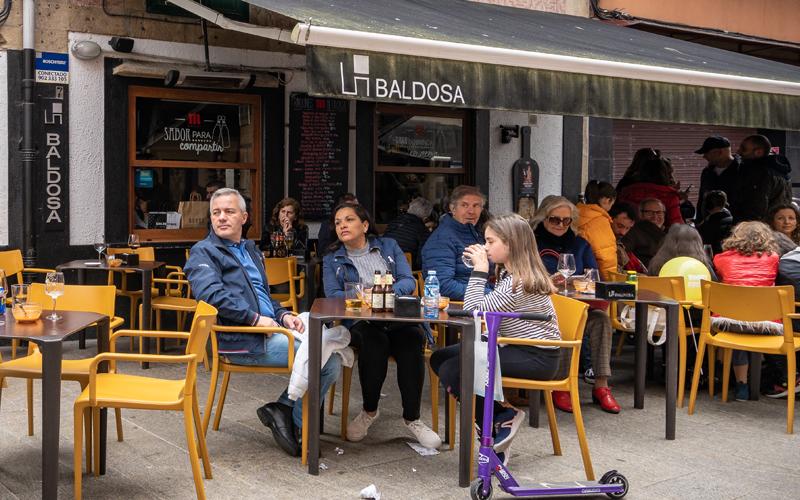 Gastronomía Vilagarcía Taperías Baldosa