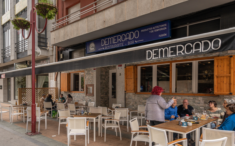 Gastronomía Vilagarcía Taperías De Mercado