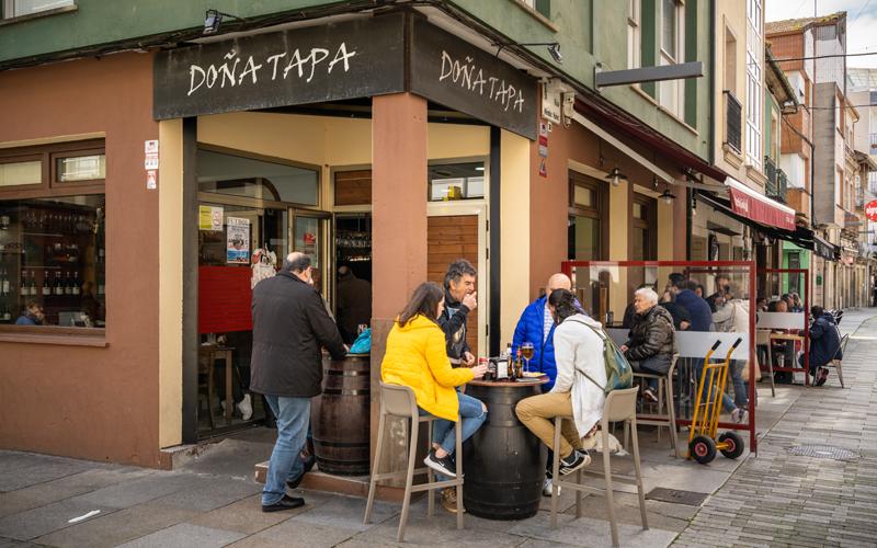 Gastronomía Vilagarcía Taperías Doña Tapa