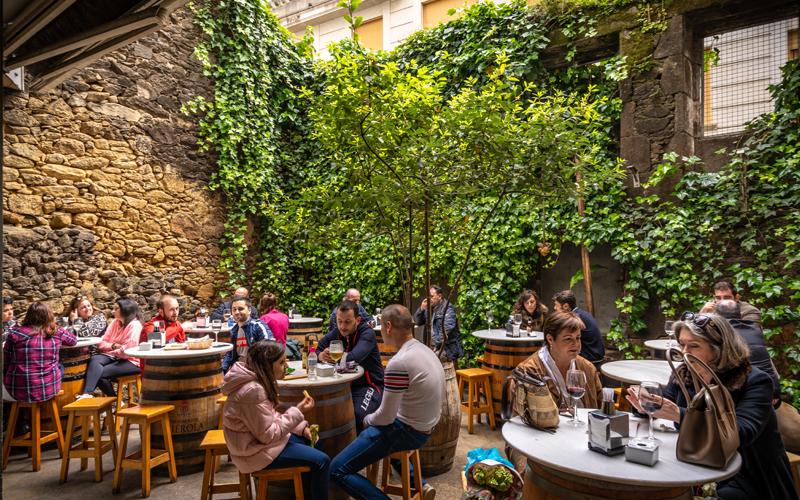 Gastronomía Vilagarcía Vinoteca Arcos