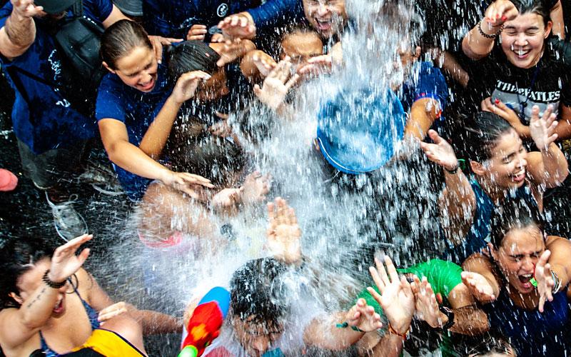Visitar Vilagarcía, fiestas del agua