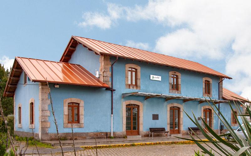 Visitar Vilagarcía, museo del ferrocarril